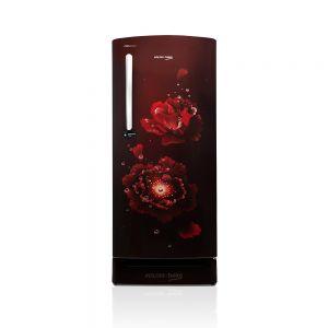 Voltas Beko 195 L 3 Star Direct Cool Single Door Refrigerator (Fairy Flower Wine) RDC215CFWEXB/XXSG Front View