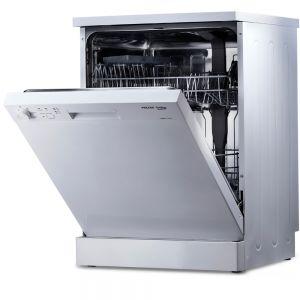 Voltas Beko 14 PS Full Size Dishwasher (White) DF14W Right Open View