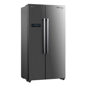 Voltas Beko 472 L Side by Side Refrigerator (Inox) RSB495XPE Left View