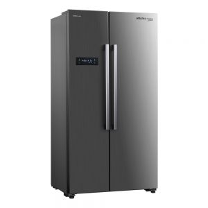 Voltas Beko 563 L Side by Side Refrigerator (Inox) RSB585XPE Left View