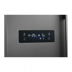 Voltas Beko 563 L Side by Side Refrigerator (Inox) RSB585XPE Electronic Display