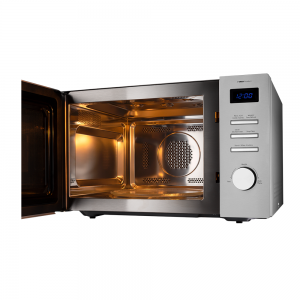Voltas Beko 34 L Convection Microwave Oven (Inox) MC34SD Open View