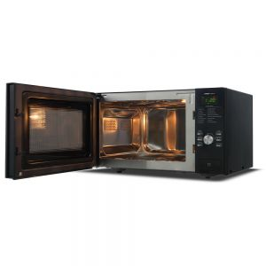Voltas Beko 25 L Convection Microwave Oven (Black) MC25BD Open View