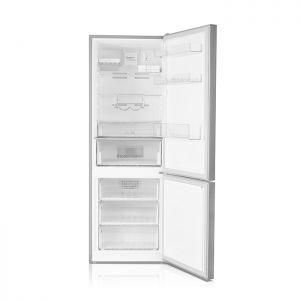 Voltas Beko 340 L 2 Star Bottom Mounted Refrigerator (Inox) RBM365DXPCF Open View