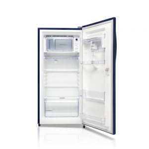 Voltas Beko 195 L 3 Star Direct Cool Single Door Refrigerator (Fairy Flower Blue) RDC215CFBSX/EXTH Left View