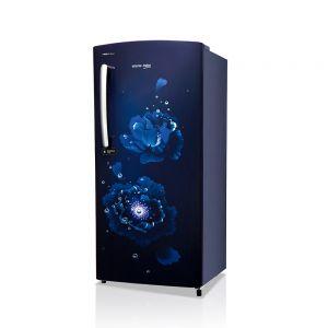 Voltas Beko 195 L 3 Star Direct Cool Single Door Refrigerator (Fairy Flower Blue) RDC215CFBSX/EXTH Open View