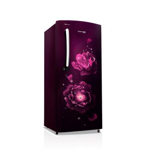 Voltas Beko 195 L 3 Star Direct Cool Single Door Refrigerator (Fairy Flower Purple) RDC215CFPEX/XXSG Left View