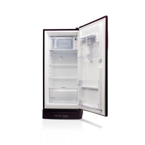 Voltas Beko 195 L 3 Star Direct Cool Single Door Refrigerator (Fairy Flower Purple) RDC215CFPEXB/XXSG Open View