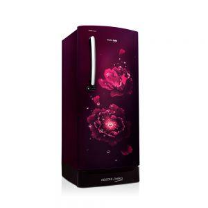 Voltas Beko 195 L 3 Star Direct Cool Single Door Refrigerator (Fairy Flower Purple) RDC215CFPEXB/XXSG Left View