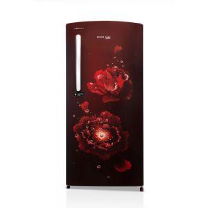 Voltas Beko 195 L 3 Star Direct Cool Single Door Refrigerator (Fairy Flower Wine) RDC215CFWEX/XXSG Front View