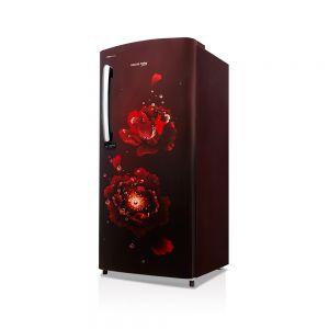 Voltas Beko 195 L 3 Star Direct Cool Single Door Refrigerator (Fairy Flower Wine) RDC215CFWEX/XXSG Right View