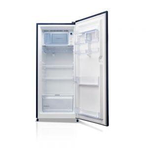 Voltas Beko 220 L 3 Star Direct Cool Single Door Refrigerator (Dahlia Blue) RDC240CDBEX/XXSG Right View