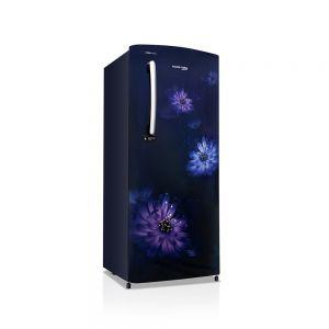 Voltas Beko 220 L 3 Star Direct Cool Single Door Refrigerator (Dahlia Blue) RDC240CDBEX/XXSG Front View