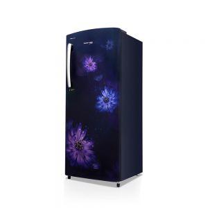 Voltas Beko 220 L 3 Star Direct Cool Single Door Refrigerator (Dahlia Blue) RDC240CDBEX/XXSG Left View
