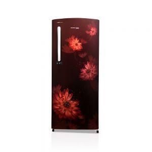 Voltas Beko 220 L 3 Star Direct Cool Single Door Refrigerator (Dahlia Wine) RDC240CDWEX/XXSG Front View