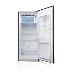 Voltas Beko 220 L 3 Star Direct Cool Single Door Refrigerator (Dahlia Wine) RDC240CDWEX/XXSG Open View