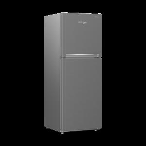 Voltas Beko 340 L 2 Star High End Frost Free Double Door Refrigerator (Silver) RFF363I Left View