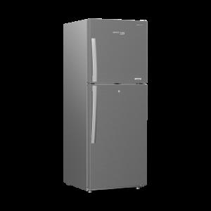 Voltas Beko 340 L 2 Star High End Frost Free Double Door Refrigerator (Silver) RFF363IF Left View