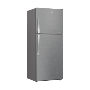 Voltas Beko 432 L 2 Star High End Frost Free Double Door Refrigerator (Silver) RFF463IF Left View