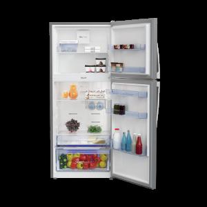 Voltas Beko 432 L 2 Star High End Frost Free Double Door Refrigerator (Silver) RFF463IF Open View