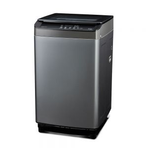 Voltas Beko 9 kg Fully Automatic Top Loading Washing Machine (Grey) WTL90UPGB Right View