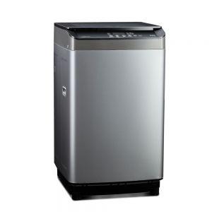 Voltas Beko 8 kg Fully Automatic Top Loading Washing Machine (Grey) WTL80UPGB Left View
