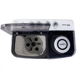 Voltas Beko 7 kg Semi Automatic Washing Machine (Gray) WTT70DGRT Spin Tub View