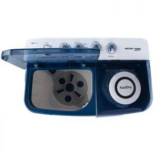 Voltas Beko 8 kg Semi Automatic Washing Machine (Sky Blue) WTT80DBLT Spin Tub View