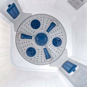 Voltas Beko 8.5 kg Semi Automatic Washing Machine (Sky Blue) WTT85DBLG Spin Tub View