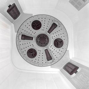 Voltas Beko 8.5 kg Semi Automatic Washing Machine (Gray) WTT85DGRG Spin Tub View