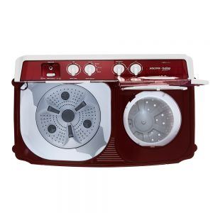 Voltas Beko 9 kg Semi Automatic Washing Machine (Burgundy) WTT90ABRT Spin Tub View