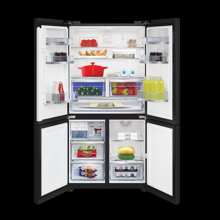 626 L Side by Side Refrigerator (Black Glass) RSB64GF